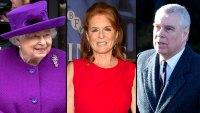 Queen Elizabeth Sarah Ferguson Honor Prince Andrew Birthday Amid Scandal