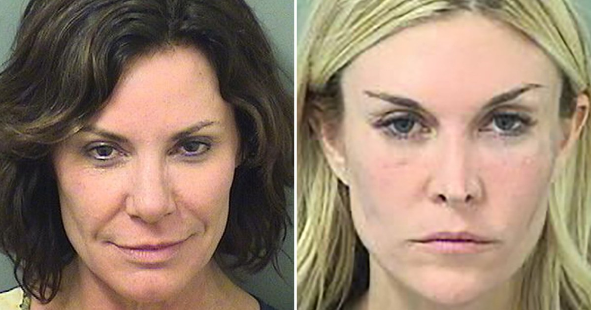 'Real Housewives' Mugshots: See Which Stars Have Been Arrested