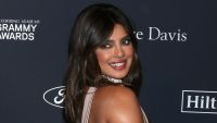 Priyanka Chopra arrives at the Clive Davis 2020 Pre-Grammy Gala at The Beverly Hilton in Los Angeles.