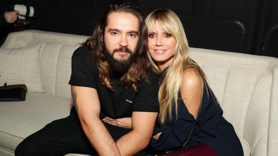 Tom Kaulitz and Heidi Klum Intimate