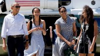 Barack and Michelle Obamas Daughters Malia and Sasha Return Home From College Due to Coronavirus