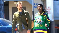 Joshua Jackson Kisses Pregnant Wife Jodie Turner-Smith