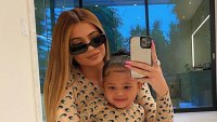 Kylie Jenner and Stormi Twinning