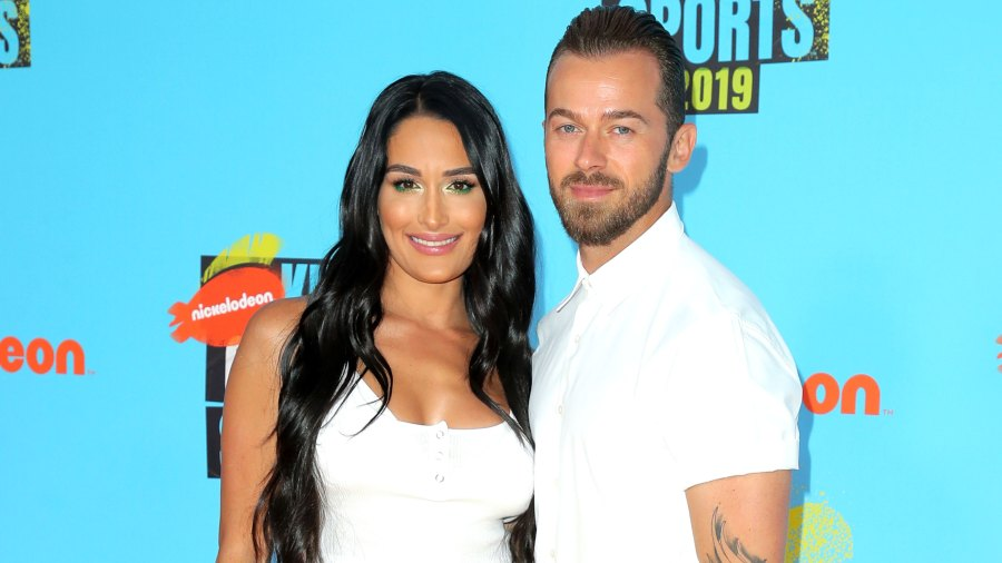 Nikki Bella Talks 'Passionate Connection' With Artem Chigvintsev in New 'Total Bellas' Promo