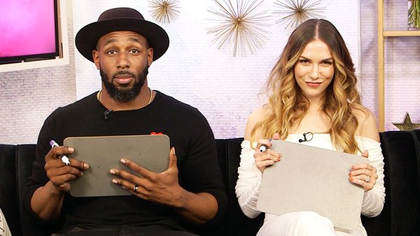 Twitch and Allison Holker Play Not-So Newly Married Game