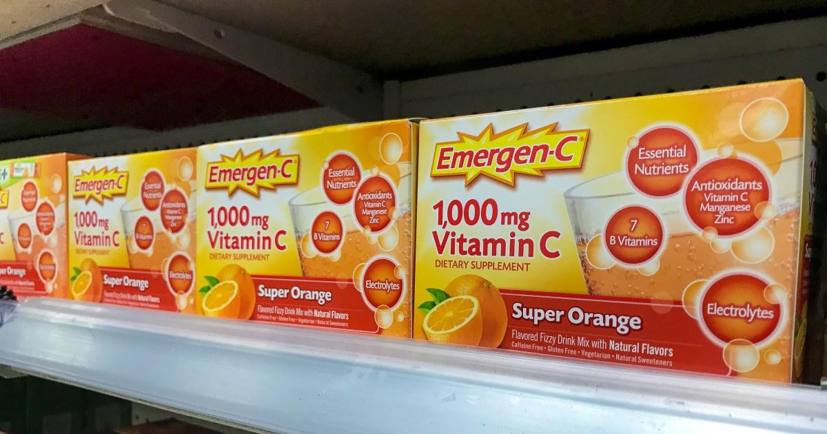 We Found Emergen-C Still in Stock on Amazon — Order Now!