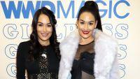 Pregnant Nikki and Brie Bella Are 'Terrified' of Coronavirus