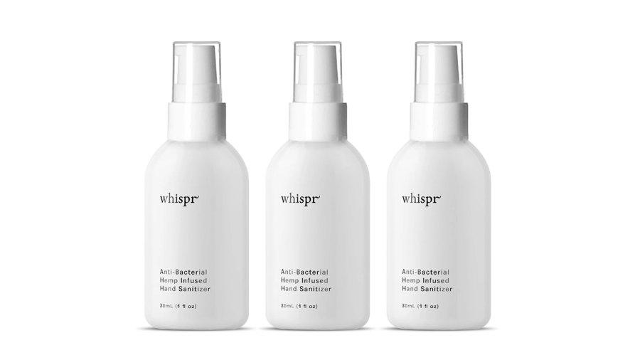 Whispr Hemp-Infused Hand Sanitizer