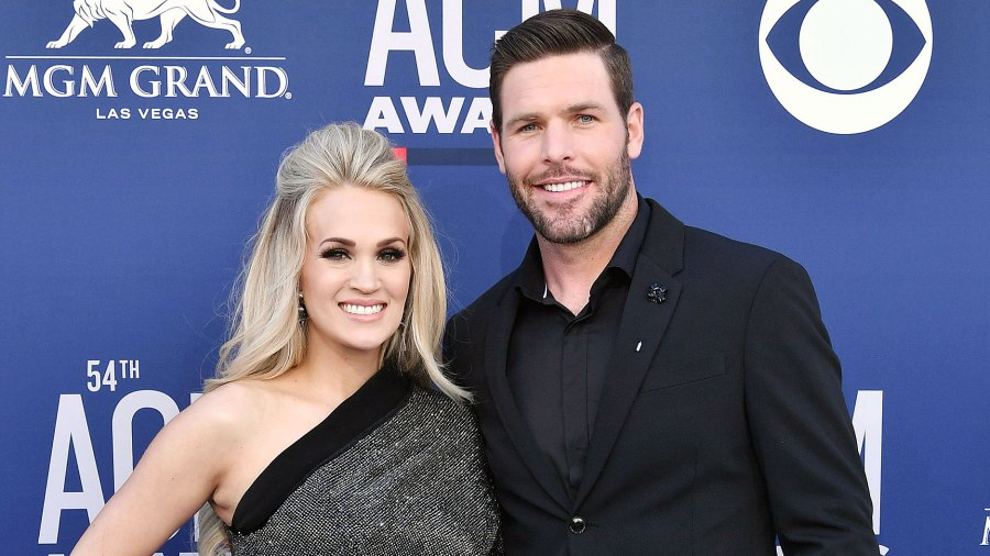 Carrie Underwood Shows How Mike Fisher Is Keeping Their Sons Entertained During Quarantine