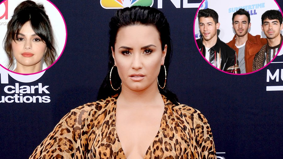 Demi Lovato Doesn't Talk to Selena Gomez or the Jonas Brothers