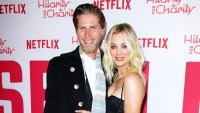 Kaley Cuoco Spanked by, Shares Kiss With Husband Karl Cook While Doing Koala Challenge