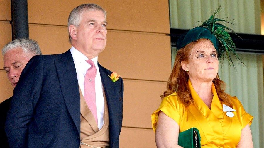 Prince Andrew Reunites With Ex Sarah Ferguson After Royal Step-Down