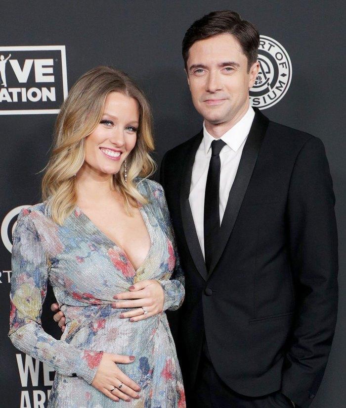 Topher Grace et Ashley Hinshaw accueillent leur deuxième enfant
