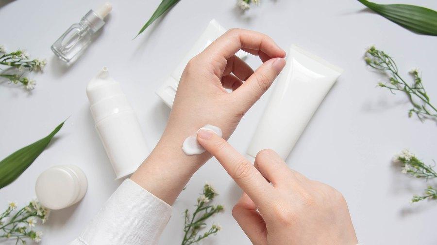 woman-using-botanical-cream