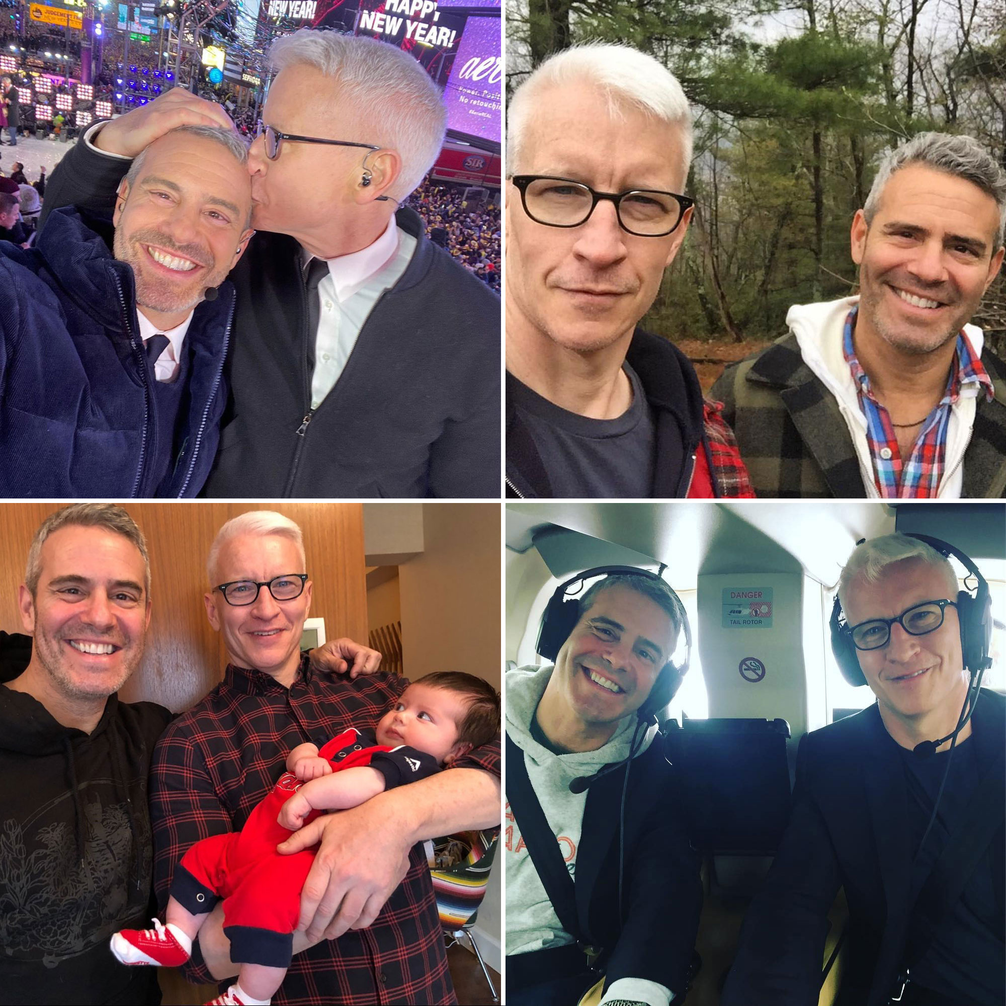 Andy Cohen and Anderson Cooper's Best BFF Moments