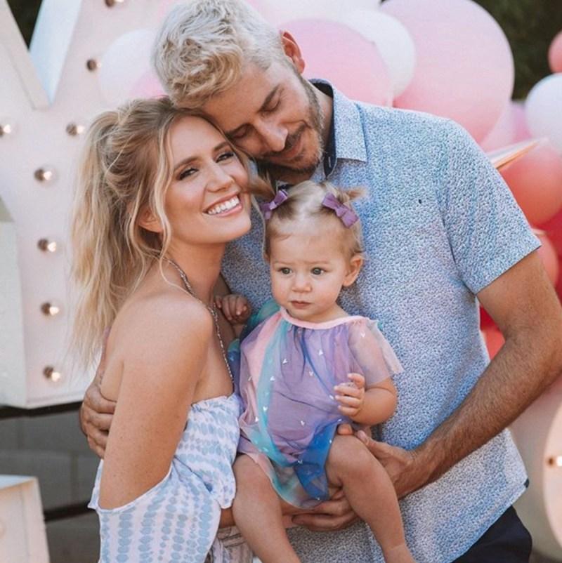 Arie Luyendyk Jr., Lauren Burnham's Daughter's 1st Birthday Party