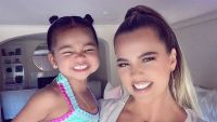 Khloe Kardashians Daughter True Helped Her During Tough Workout