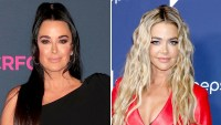 Kyle Richards Thinks Denise Richards Issues With Her Stem From Chats With Former Beverly Hills Housewives