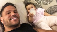 Ronnie Ortiz-Magro Plays With Daughter Ariana After Domestic Violence Case