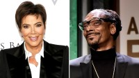 Stars with Cookbooks Kris Jenner Snoop Dogg