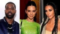Tristan Thompson Kendall Jenner Gift Kim Kardashian Mother Day Flowers