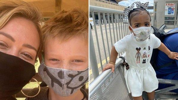 Celeb Kids in Masks