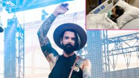 Chris Carrabba of Dashboard Confessional Motorcycle Accident Celebrity Health Scares