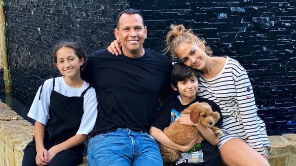 Jennifer Lopez Surprises Son Max With Cute New Puppy Alex Rodriguez Instagram