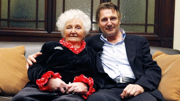Liam Neeson Mom Kitty Dies at 94 a Day Before His 68th Birthday