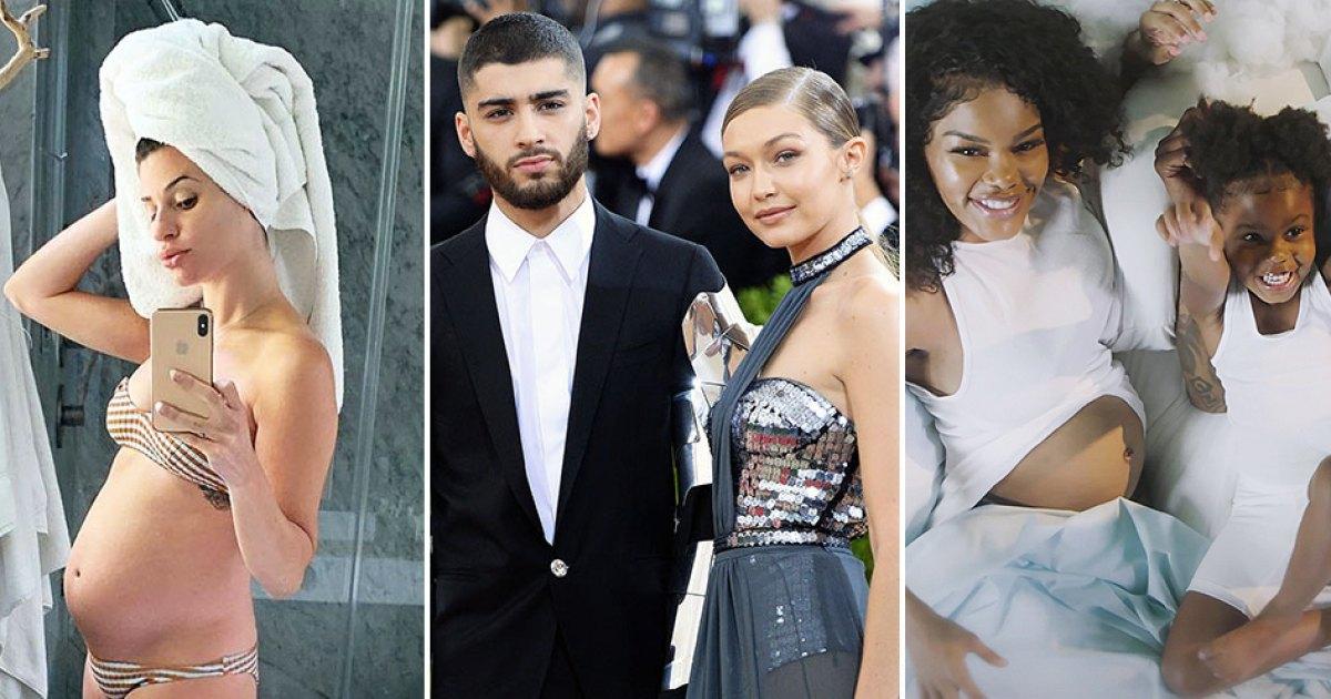 Celebrities Announcing Pregnancies During the Coronavirus Pandemic: Pics 1