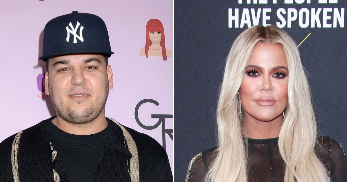 Happy and healthy! Rob Kardashian showed off his slimmed-down body while making a rare appearance at his sister Khloé Kardashian's birthday party.