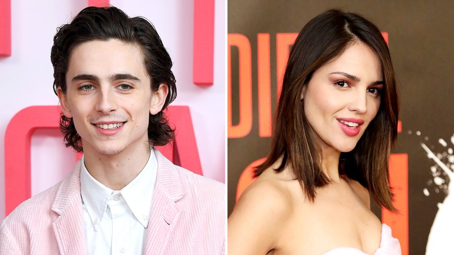 Timothee Chalamet and Eiza Gonzalez Pack on the PDA on Steamy Vacation in Mexico