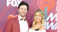 Beau Clark and Stassi Schroeder attend the iHeartRadio Music Awards Pregnant Stassi Schroeder Shows Off Her Growing Baby Bump After Confirming She Is Having a Girl