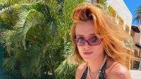 Bella Thorne Looks Off the Charts in Tiny Bikini Top