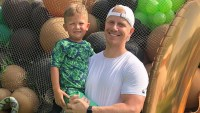 Catherine Giudici Sean Lowe Celebrate Son Samuel Birthday With Swamp-Themed Bash