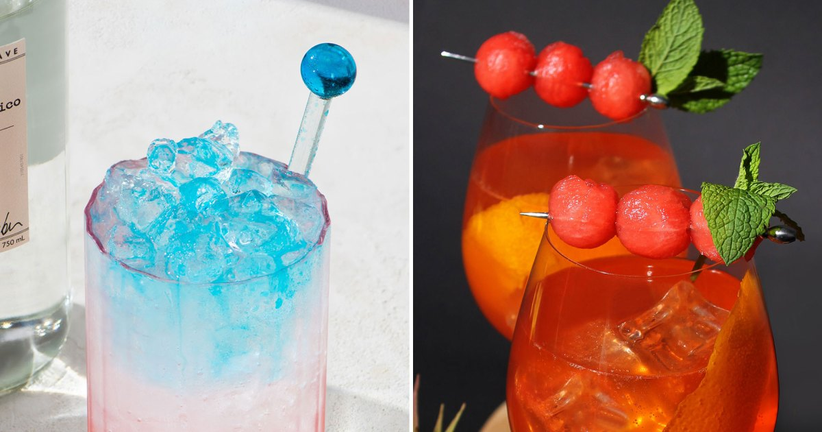 Celebrity-Approved Summer Cocktail Recipes: Photos