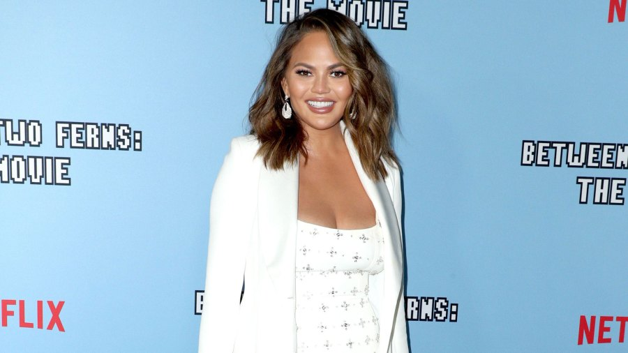 Chrissy Teigen Poses Topless After Breast Implant Removal Surgery