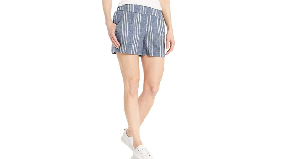 Daily Ritual Women's Linen Pull-on Short