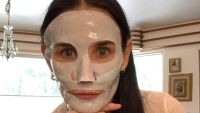 Demi Moore mask