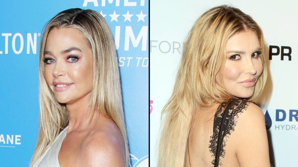 Denise Richards Speaks Out About Alleged Affair With Brandi Glanville Amid Kissing Photo Scandal