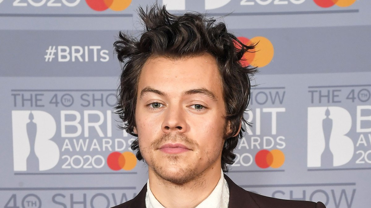 Harry Styles Finally Debuts Mario Mustache After 9 Years Pic