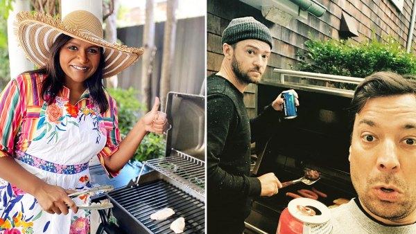 Mindy Kaling Justin Timberlake Jimmy Fallon John Legend David Burtka and Neil Patrick Harris Stars Who Love To BBQ