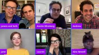 Gallery Update Stars Reunite Over Video-Chat Amid Quarantine 'Zoey's Extraordinary Playlist' Cast