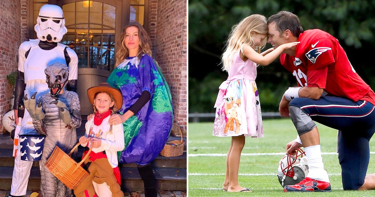 Tom Brady Gisele Bundchen S Family Album Pics With Kids