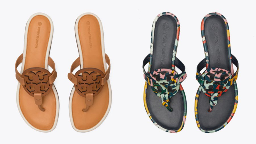 Tory Burch Miller Sandal Capsule Collection