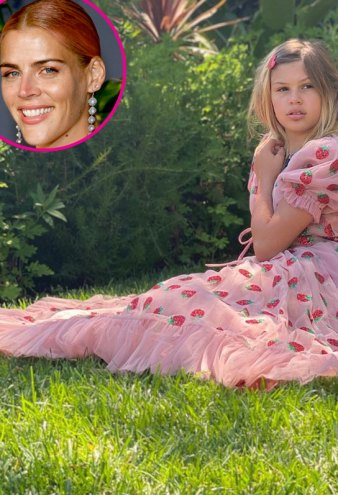 Busy Philipps Daughter Birdie Poses in a Dress for 12th Birthday