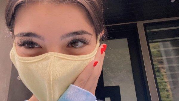 Charli D'Amelio face mask