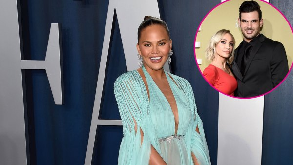 Chrissy Teigen Reacts to Selling Sunset Mary Fitzgerald and Romain Bonnet Real Wedding Date