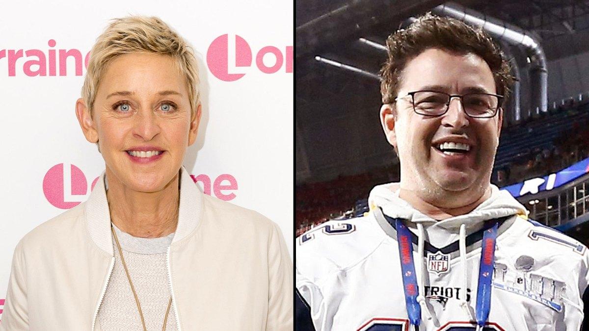 Ellen Andy Halloween 2020 Ellen DeGeneres' Producer Andy Lassner on 'Couple of Rough Months'