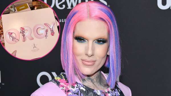 Jeffree Star's New Orgy Makeup Collection Draws Mixed Reactions on Social Media